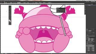 Dessiner un personnage vectoriel avec Illustrator - Tuto gratuit Illustrator en Français
