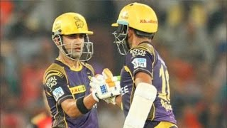 IPL 2016 | Kolkata Knight Riders vs Sunrisers Hyderabad | KKR Won By 8 Wickets