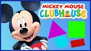 Mickey Mouse Clubhouse: Kids Learn Colors, Shapes, Numbers Mickey Mouse ABC
