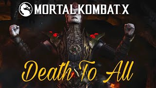 Mortal Kombat XL Death To All Premier Tower Gameplay