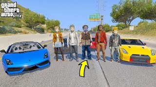 GTA 5 REAL LIFE TEEN MOD #27 ROAD TRIP WITH FRIENDS!