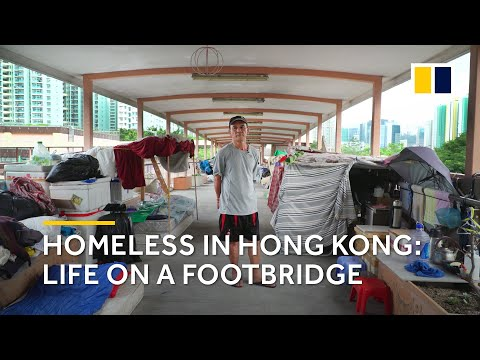 Xxx Mp4 Extreme Poverty In Hong Kong Homeless Life On A Footbridge 3gp Sex
