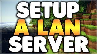 How To Setup A LAN Minecraft Server - 1.7.10/1.8.1