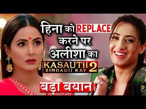 Xxx Mp4 Alisha Panwar On REPLACING Hina Khan In 'Kasautii Zindagii Kay 2' 3gp Sex