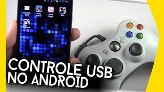 Como conectar um controle USB no seu Android [SEM ROOT]