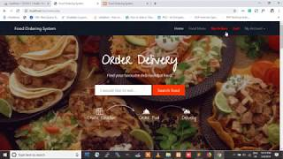 Food Ordering System Using PHP and MySQL , Online  Food Ordering System project in  php - PHPGurukul