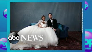 Serena Williams and Alexis Ohanian's fairy-tale wedding