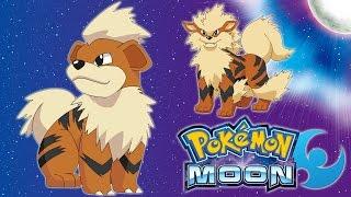 Pokemon: Moon - Growlithe Evolved!