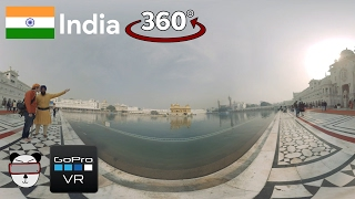 🌍 360° GoPro Omni VR: The Golden Temple | Amritsar, India 🇮🇳