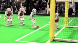 Robotic Soccer Demo from Nao-Team HTWK