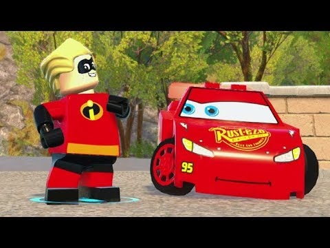 Xxx Mp4 Dash Vs Lightning McQueen Co Op Race In LEGO The Incredibles 3gp Sex