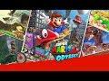 ♬ Super Mario Odyssey ♬ (GMV) - Super Mario World Levels - Avicii