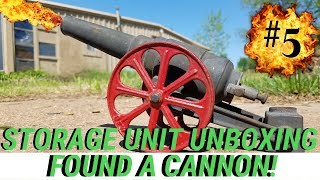 I Found A Cannon In An Unpaid Storage Unit | 27 Year Old Vintage Storage Unit Auction Unboxing #5