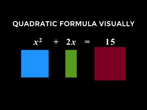 The Quadratic Formula - INTUITIVE Derivation