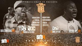 TAY ROC VS DNA SMACK/ URL | URLTV