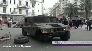 فيلم تيخلع ..العسكر والقرطاس والحرب فقلب كازا