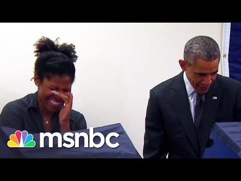 Interview With Obama s Girlfriend All In MSNBC