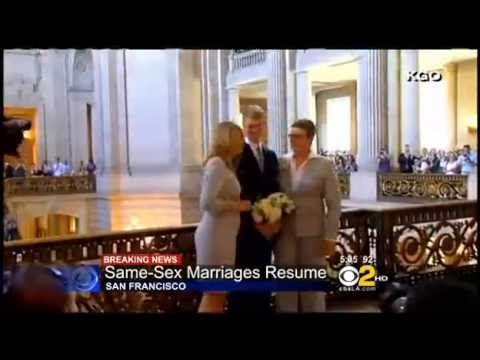 Same Sex Marriage Is Fast Tracked In California   Watch the video   Yahoo! Screen