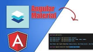 Angular Material Custom Theme Tutorial