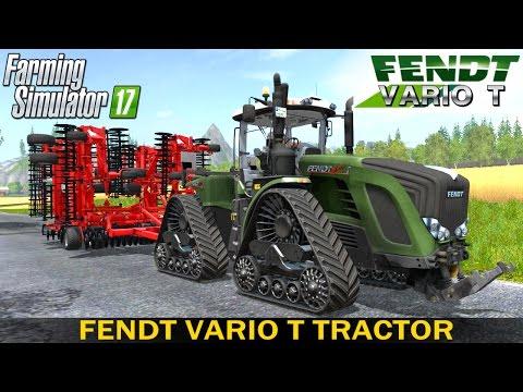 Farming Simulator 17 FENDT VARIO T TRACTOR