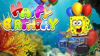 Spongebob Happy Birthday Song Nickelodeon