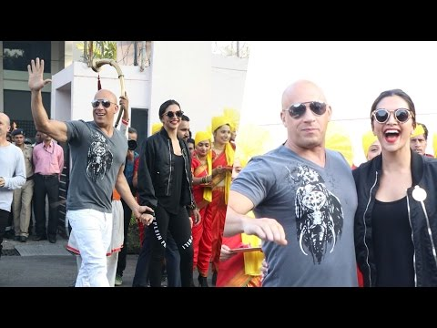 Xxx Mp4 Video Vin Diesel ARRIVES With Deepika Padukone In India XXx India Premiere 3gp Sex