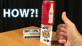 EASY Card Balance Magic Trick HOW TO!