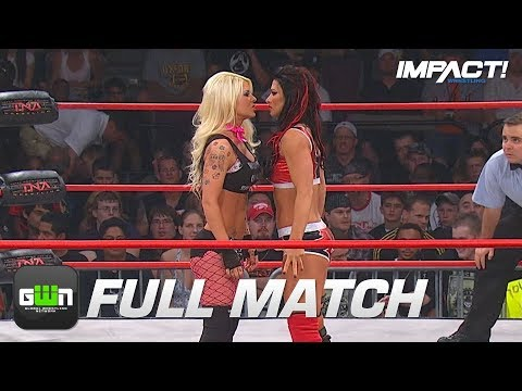 Angelina Love vs Tara FULL MATCH TNA Slammiversary 2009 IMPACT Wrestling Full Matches