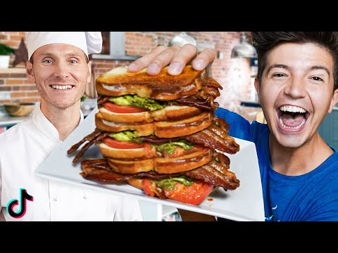 I Hired a Professional Chef to Test TikTok Food Hacks