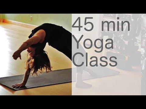 Xxx Mp4 Yoga Body Workout Free Yoga Class Vinyasa Yoga 45 Min Class With Fightmaster Yoga 3gp Sex