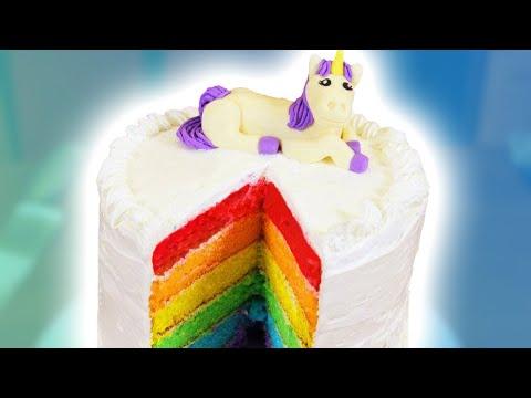 Xxx Mp4 HOW TO MAKE A RAINBOW CAKE NERDY NUMMIES 3gp Sex