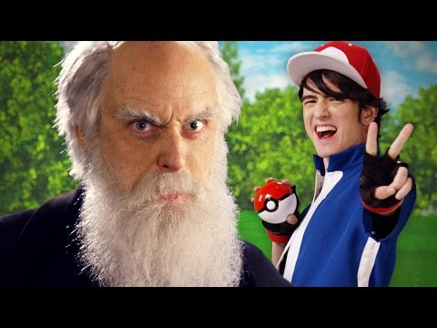 Xxx Mp4 Ash Ketchum Vs Charles Darwin Epic Rap Battles Of History 3gp Sex