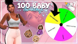 SIMS 4 100 BABY CHALLENGE with A TWIST #7 *TWINS BIRTH*
