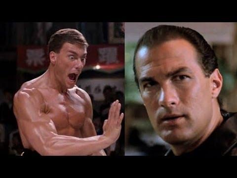 Steven Seagal Vs. Jean Claude Van Damme