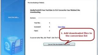 How to Convert YouTube to FLV fast and for free [Best Freeware]