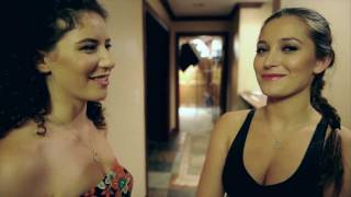Dani Daniels, Revenge of the Petites on set Interview