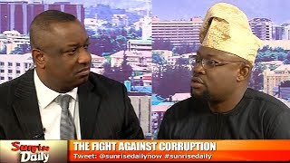Keyamo, Onoja Disagree On How FG Is Fighting Corruption Pt.1 |Sunrise Daily|