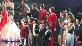 ABS-CBN xmas special finale  12.13.11