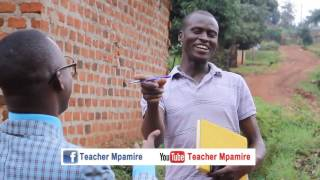 Did you come to Swim or Sleep? Teacher Mpamire (African Comedy)