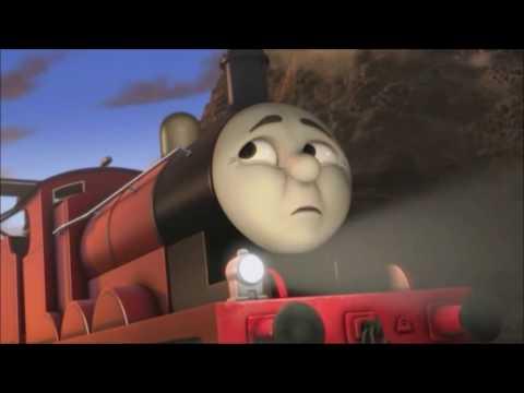Os Momentos Mais Perigosos de James RMT Apresenta Thomas e Seus Amigos