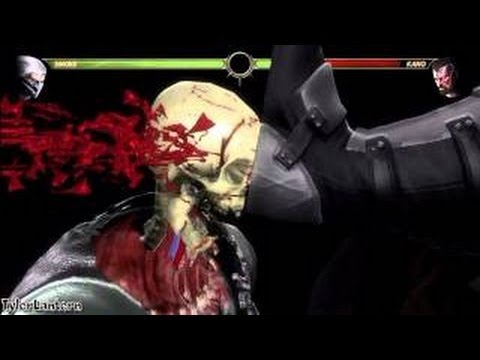 Mortal Kombat 9 All   -   X RAY MOVES
