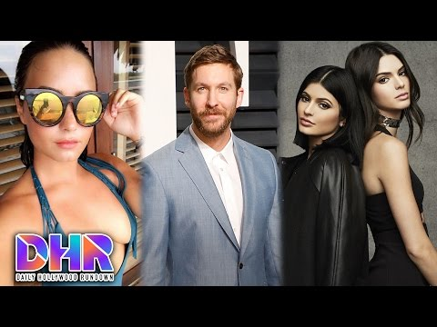 Calvin Harris Flirts With Demi Lovato Kendall & Kylie Embrassed By Caitlyn s Gender Surgery DHR
