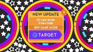 COLOR SWITCH TARGET LEVELS 1-50