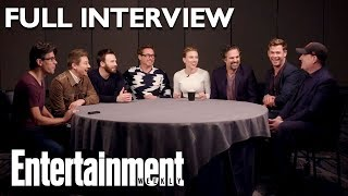 'Avengers: Endgame' Cast Full Roundtable Interview On Stan Lee & More | Entertainment Weekly