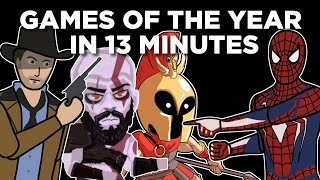 Video Games of the Year in 2018 in 13 Minutes! | Arcade Cloud
