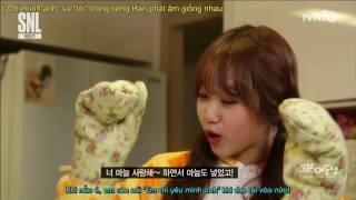 [MYJSubTeam] [Vietsub] SNL Em gái 3 phút - Yoojung cut