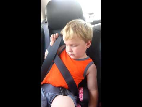 My seat belt is stuck!