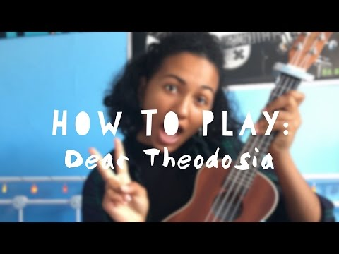 Download Dear Theodosia ~ Hamilton (UKULELE TUTORIAL + KARAOKE)