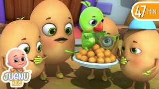 Aaloo Kachaloo Hindi Poem  - 3D animated hindi Kavita and nursery rhymes by jugnu kids