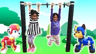 Family Fun Playtime Playground Chase Paw Patrol Egg Surprise Toy Thomas Friends Naiah